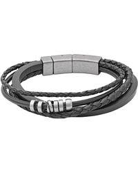 Fossil - Jf85299040 Vintage Casual Men's Bracelet - Lyst