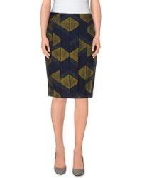Jo No Fui - Knee Length Skirt - Lyst