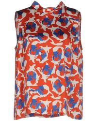 L'Autre Chose | Sleeveless Printed Top | Lyst
