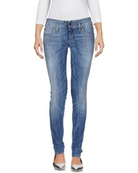 Twenty Easy By Kaos - Denim Trousers - Lyst