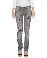 Dolce & Gabbana - Denim Trousers - Lyst