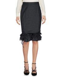 Frankie Morello - Knee Length Skirts - Lyst