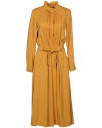 Patrizia Pepe - 3/4 Length Dresses - Lyst