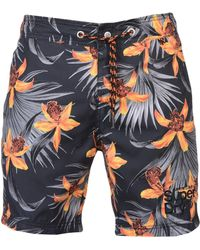 Superdry - Vacation Paradise Swimming Shorts - Lyst