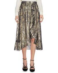 MASSCOB - 3/4 Length Skirts - Lyst