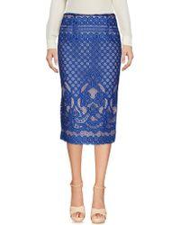Relish - 3/4 Length Skirt - Lyst