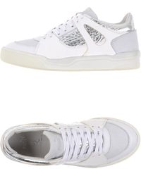 85cc24663d79c1 Alexander McQueen X Puma - Move Suede and Leather Low-Top Sneakers - Lyst