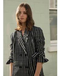Kelly Love - Gentle Song Striped Coat - Lyst