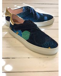 Camilla Elphick - Heart And Soul Sneaker In Disco Blue Orchid - Lyst