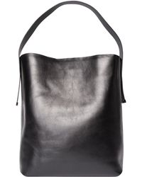 Gvyn - Noa Black Hobo Tote Bag - Lyst