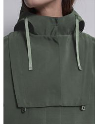 Folk - Parka In Field Green - Lyst