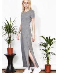 Uncivilised - Aphrodite Grey Maxi T-dress - Lyst