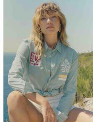 Bruta - Cotton Poplin Anemone Shirt - Lyst