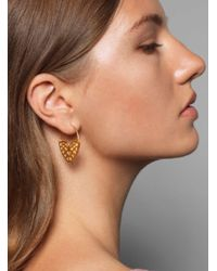 Joanna Cave - Ramona Gold Earrings - Lyst