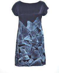 Florence Bridge - Hannah Silk Shift Dress - Lyst