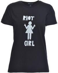 Simeon Farrar | Riot Girl Tee In Black | Lyst