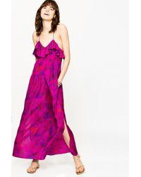 Zadig & Voltaire - Ribbon Jungle Dress - Lyst