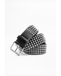 Zadig & Voltaire - Spi Spikes Belt - Lyst