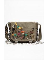Zadig & Voltaire Sac ready-made xs canvas