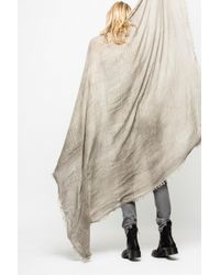 Zadig & Voltaire - Anael Scarf - Lyst