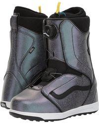 Vans - Encore (black/white) Women's Cold Weather Boots - Lyst