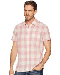 Calvin Klein Jeans - Short Sleeve Gauze Check Button Down - Lyst