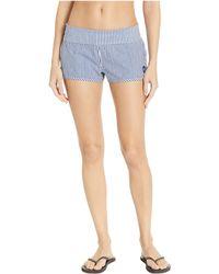 Roxy - Endless Summer Printed Boardshorts (medium Blue Cornfield Stripe) Women's Swimwear - Lyst