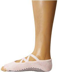 ToeSox - Elle Half Toe W/ Grip (nude) Women's No Show Socks Shoes - Lyst