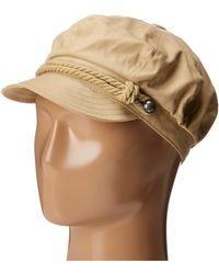 Betmar - Fisherman Cap (white/navy) Caps - Lyst