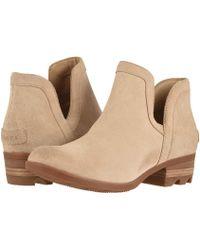 Sorel - Lolla Cut Out (light Raisin/black Suede) Women's Shoes - Lyst