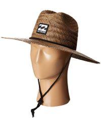 3539f6ec298 Billabong - Tides Hat (natural) Safari Hats - Lyst