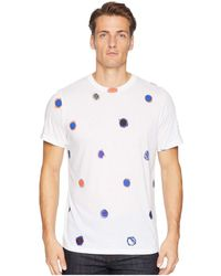 1e9af0a53 Paul Smith - Reg Fit Short Sleeve All Over Tee (white Multi Polka Dots)