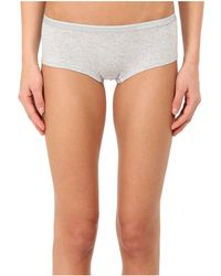 Emporio Armani - Essential Stretch Cotton Cheeky Pants - Lyst