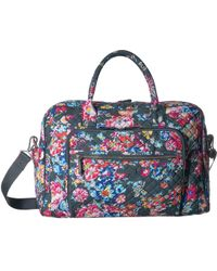 b186449abbfc Vera Bradley - Iconic Weekender Travel Bag (shore Thing) Weekender overnight  Luggage -
