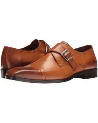 Massimo Matteo - Single Monk Cap Toe (black) Men's Shoes - Lyst