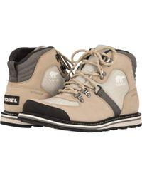 Sorel - Madsontm Sport Hiker Waterproof (ancient Fossil/light Dove) Men's Lace-up Boots - Lyst
