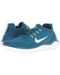 330081ff8073 Nike - Free Rn 2018 (white black) Men s Running Shoes - Lyst