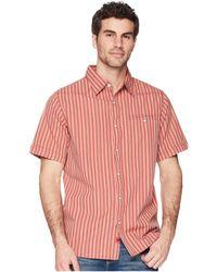 Mountain Khakis - El Camino Short Sleeve (rojo) Men's Clothing - Lyst