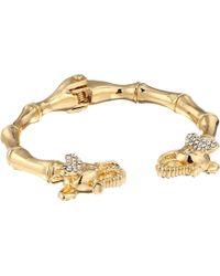 Lilly Pulitzer - Glam Elephant Bracelet (gold Metallic) Bracelet - Lyst