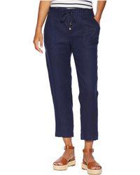 Lauren by Ralph Lauren - Petite Straight Linen Pants - Lyst