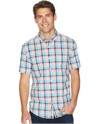 Original Penguin - Short Sleeve Stretch P55 Plaid (peach Amber) Men's T Shirt - Lyst