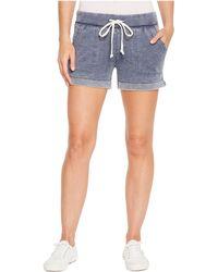 Alternative Apparel - Burnout French Terry Lounge Shorts (dark Navy) Women's Shorts - Lyst