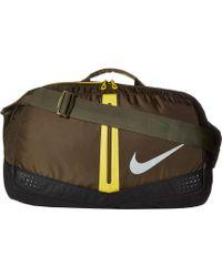 Nike - Run Duffel Bag 34l (black volt silver) Duffel Bags - 2faca6fa23643