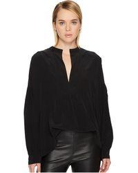 Vince - Shirred Blouse - Lyst