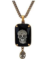 Alexander McQueen - Skull Necklace - Lyst