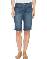 NYDJ - Briella Shorts W/ Fray Hem In Zimbali (zimbali) Women's Shorts - Lyst