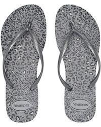 82b3d11d683dea Havaianas - Slim Animals Flip Flops (beige rose Gold 2) Women s Sandals -