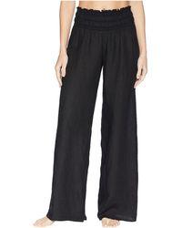 Hard Tail - Smocked Waist Pants (skeleton Horizon 4) Women's Casual Pants - Lyst