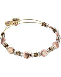 ALEX AND ANI - Splendor Bangle Multi-tone (rafaelian Gold) Bracelet - Lyst