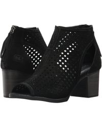 Dirty Laundry - Tessa Peep Toe Bootie (exclusive Tigers Eye) Women's Dress Lace-up Boots - Lyst